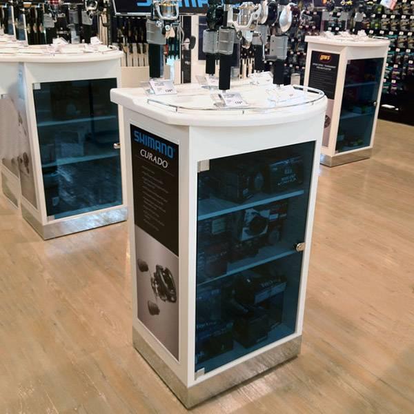 數碼產品零售店鋪功能演示體驗陳列木櫃