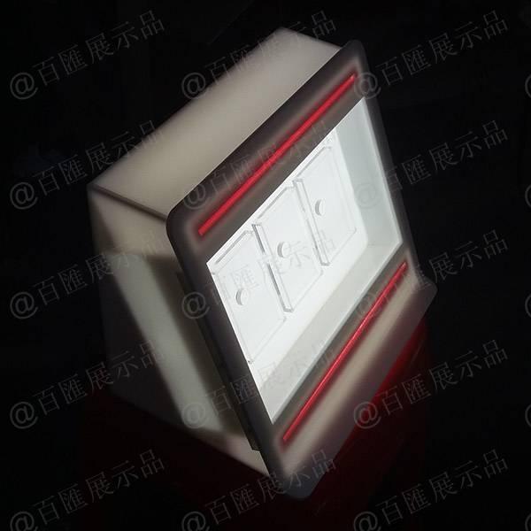 Marlboro 萬寶路香菸LED燈發光亞加力膠架 - 19