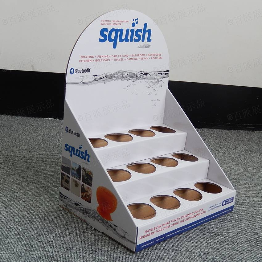 Squish 防水藍牙音響紙陳列盒