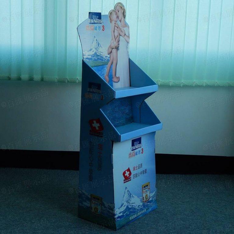 雀巢®超級能恩®3號奶粉紙展示架