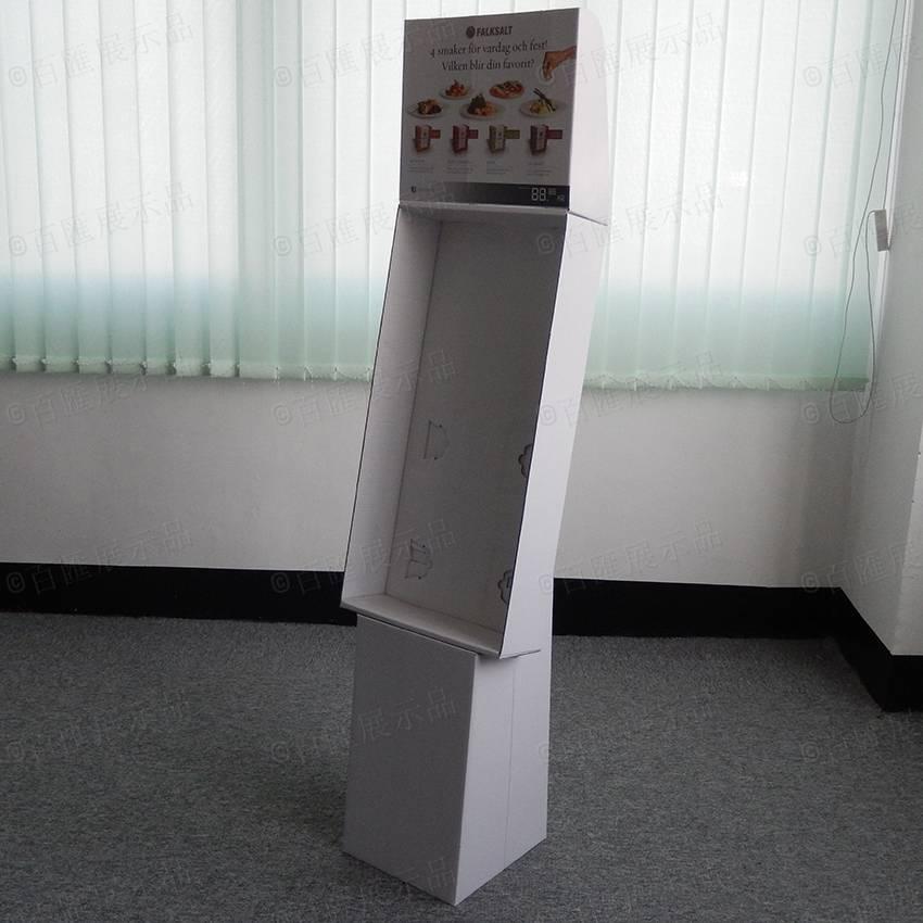 廚具用品紙質展示架