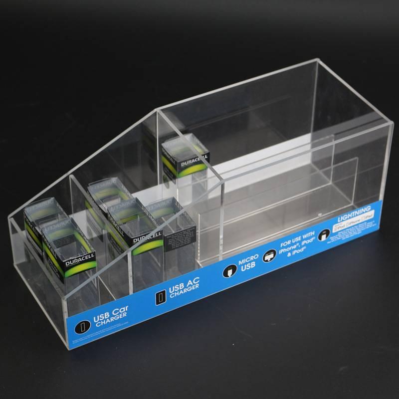 USB車充產品亞加力托架