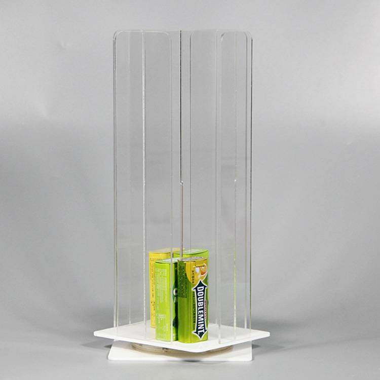 綠箭口香糖亞加力旋轉展示架