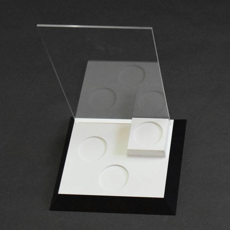 桌上型亞加力攝紙廣告架
